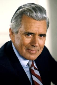 "UNITED STATES - DECEMBER 15: DYNASTY - ""The Mid-East Meeting"" - Season Two - 12/15/81, Blake (John Forsythe, pictured) and Jeff attempted to arrange a meeting with Rashid Ahmed to obtain assistance in releasing their overseas oil tankers., (Photo by ABC Photo Archives/ABC via Getty Images)"