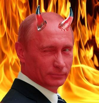 Putin-as-devil