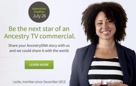 ancestry-commercial-audition