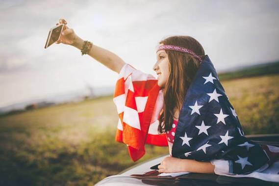 American dream selfie!
