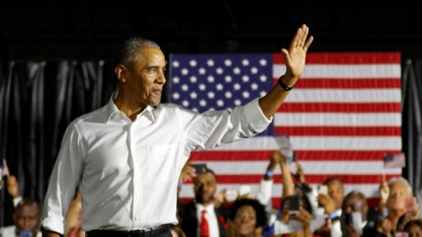 FILE PHOTO: Obama campaigns for Democrats in Miami